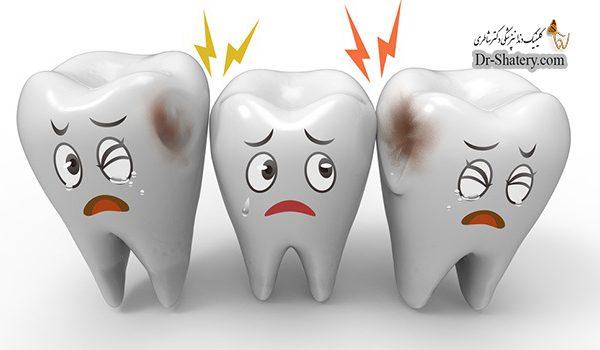 درد تاج دندان علل و راه های درمان
