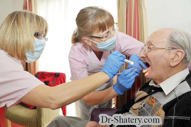 سالمندان و بهداشت دهان و دندان